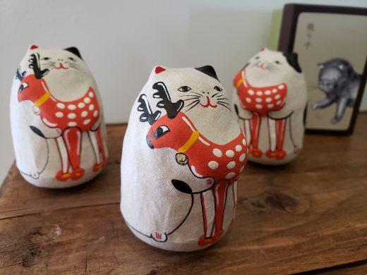 鹿もち猫(瑜伽オリジナル)