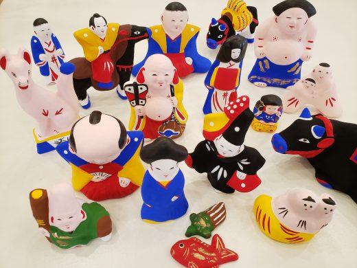 大和出雲土人形 (奈良県桜井・江戸時代後期から今に続く郷土玩具)