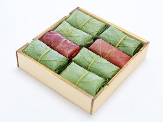 柿の葉ずし鯖鮭8個