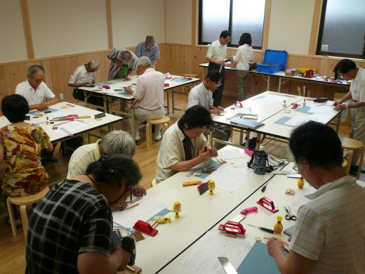 おもちゃ作りの教室