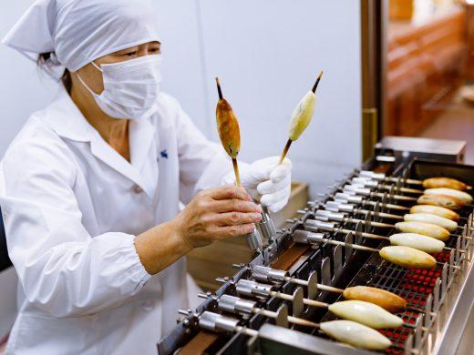 さつま焼の製造(焼成工程)